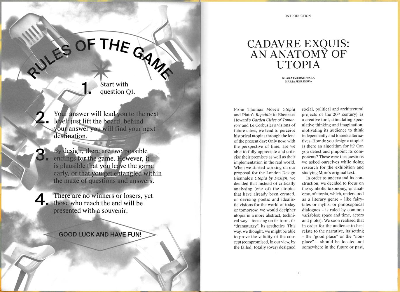 Cadavre Exquis: An Anatomy of Utopia – who decides who decides